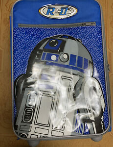 American Tourister Disney Star Wars R2D2 Soft Carry-On Luggage Suitcase