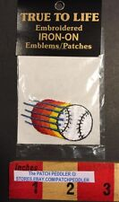 New In Package Baseball Softball Iron-on Shirt Or Hat Patch. Ball 57S