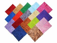"""17 10"""" Quilting Fabric Layer Cake Squares Marbelious!! NEW ITEM Buy It Now"""