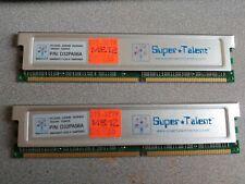1 one RAM PC3200 256MB DDR400 32MX8 D32PA56A Super Talent Memory