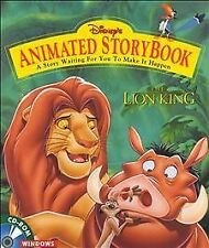 Disney's The Lion King Animated StoryBook Version 1.2 (Windows/Mac, 1995)