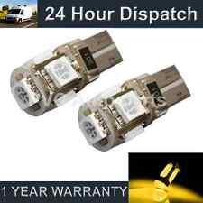 2 x W5W T10 501 Canbus Fehlerfrei Xenon Bernstein 5 LED Blinkerbirnen sr101301