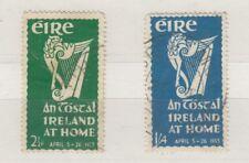 Ireland 1953 2 1/2d 1s 4d An Tostal SG154/155 VFU J6416