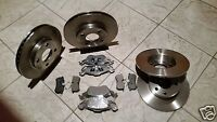 FORD FOCUS Mk 1 ST 170   98-04 TWO FRONT AND TWO REAR BRAKE DISCS &  BRAKE PADS