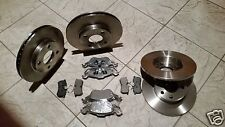FORD FOCUS Mk1 (98-04)TWO FRONT AND TWO REAR BRAKE DISCS+ BRAKE PADS