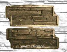 1 paar Schieferstruktur=2 Gießformen 48 cm x19 cm + 1 L Trennmittel