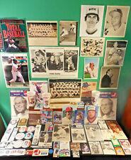 Chicago White Sox NICE! lot 300 collectibles & misc Fox Seaver Aparicio Fisk etc