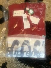Supreme Lacoste Hoodie Red Size XL