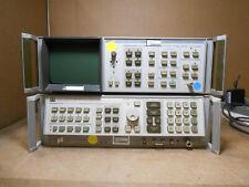 Hp 8566b Spectrum Analyzer 100hz 25 Ghz 2 22ghz With Analyzer Display