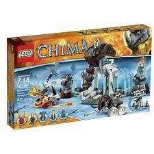 621PC Legends Of CHIMA LEGO 70226 Mammoths Frozen Stronghold + Launching Vehicle