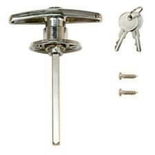 Everbilt 5/16 in. x 4 inch Square-Shaft Locking T-Handle with Key, 503 425