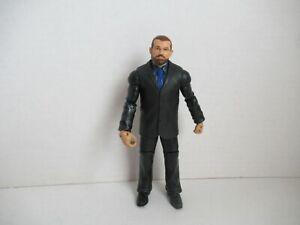 "Mattel WWE Battle Pack Jamie Noble 6"" Suit Basic Series 37 Elite J&J Security"