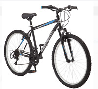 "Roadmaster Granite Peak Men's Mountain Bike,26"" wheels, Black/Blue FREE SHIPPING"
