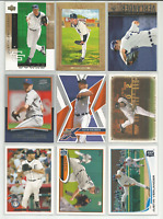 2007-2013 Justin Verlander Mixed Lot 9 Different Tigers Cards Topps Upper Deck