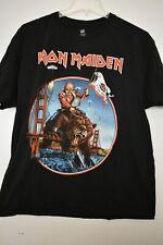 IRON MAIDEN California MAIDEN ENGLAND 2012 tour Official shirt Rare