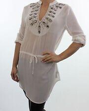 Polyester 3/4 Sleeve Tunic Dresses NEXT