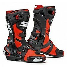 Sidi Rex White/Black CE Motorcycle Boots Size UK 12