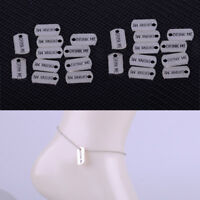 30xAntique DRINK ME Tag Charms Pendants Fit for Necklace Jewelry Craft 9x17mm