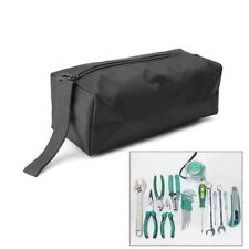 Oxford Canvas Tool Bag Hardware Zipper Storage Toolkit Travel Makeup Hand Pouch