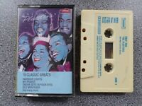 THE PLATTERS - ONLY YOU 16 CLASSIC GREATS -  ALBUM - CASSETTE TAPE