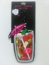BETSEY JOHNSON Large TROPICAL DRINK with UMBRELLA NWT