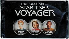 Rittenhouse 2012 Quotable Star Trek Voyager Factory Sealed Trading Card Pack