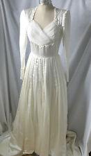 Vintage,c1940,EMMA DOMB,Silk Satin Wedding Dress, 12