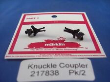EE 217838 NEW Marklin HO 217838 Knuckle Couplers USA Proto for NEM 362 Pocket