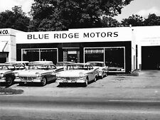 1957 Ford Dealership in Anderson SC  8 x 10 Photograph