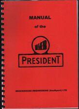 "Brockhouse Engineering ""BMB President"" Tractor Manual"