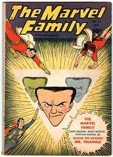 Marvel Family   15   Marvel Family fights Mr Triangle