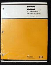 ORIGINAL 1981 CASE 50 SERIES E CRAWLER EXCAVATOR PARTS MANUAL SEALED MINT!