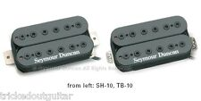SEYMOUR DUNCAN FULL SHRED 7-STRING HUMBUCKER SERIES BLACK BRIDGE SH-10b