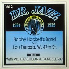 CD Bobby Hackett - N º 1 , feat. Vic Dickenson, Dr.jazz Series vol.2, storyville