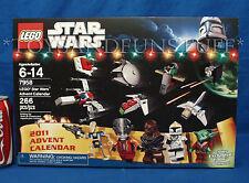 NEW - Lego 7958 - STAR WARS ADVENT CALENDAR - Christmas YODA Exclusive - SEALED