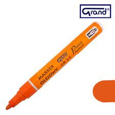 Universal Arancione Vernice base di olio penna IMPERMEABILE LEGNO VETRO PLASTICA Pneumatico