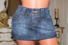 (Ref 20) m-o-t-o  Blue Denim Mini Skirt in Size 8