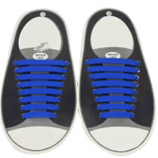 16pcs/Set Easy No Tie Shoelaces Elastic Silicone Flat Shoe Lace for Kids Adult