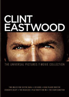 Clint Eastwood: The Universal Pictures 7 Movie Collection (4 Disc) DVD NEW
