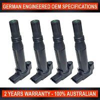 4 x Ignition Coils for Citroen C-Elysee C1 C3 C4 DS3 4 Cylinder 1.0L & 1.2L Eng.