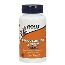 Now Foods Glucosamine and MSM Joint Health, 60 Capsules