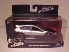 Fast & Furious Brian's Subaru Impreza WRX STI Diecast Car 1:32 Jada 5 inch 98507