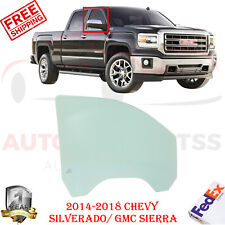 Front Passenger Right Side Door Glass For 2014-2018 Chevy Silverado GMC Sierra