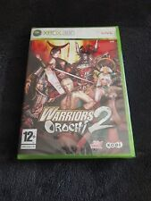 Jeu XBOX 360 Warriors Orochi 2 II PAL neuf sous blister