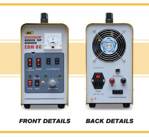 800W Portable EDM Tap Remover Bolt Drill Removal Spark Erosion Tap Burner Buster