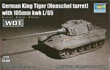 Trumpeter 1/72 (20mm) Sd Kfz 182 King Tiger (Henschel) with 105mm Kwk L/65 Gun