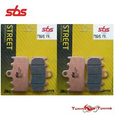 Bmw R 1150 RT con Integrale ABS 01-06 SBS Street Sinterizzate Anteriori freno