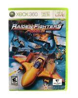 Raiden Fighters Aces (Microsoft Xbox 360, 2009) Good, CIB, *TESTED*