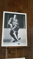 1960-61 YORK CKRS TV RADIO PHOTO CARD JEAN BELIVEAU MONTREAL CANADIENS HOF