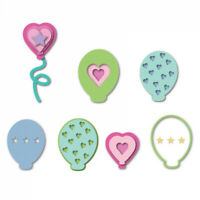 Lifestyle Crafts QuicKutz Cutting Die Set MUSTACHES  Funny Favors   ~L-CC-021